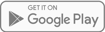 A grey large Google Play download icon.