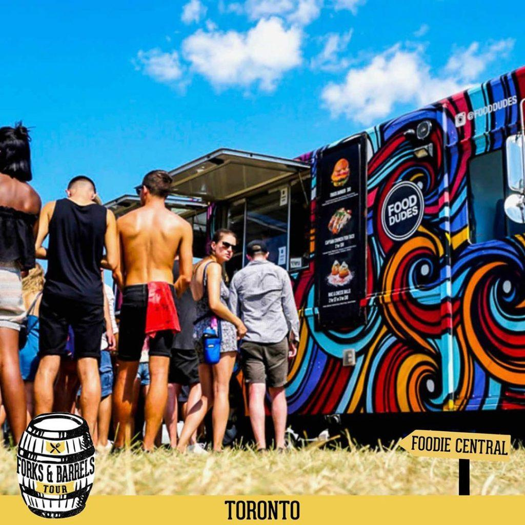 Promotional video for Toronto's Forks and Barrels event in 2019